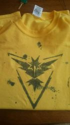 Team Instinct Shirt by Zkombe