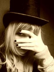 Me and my hat yet another time by Mcleen