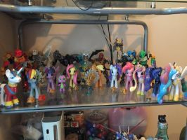 MLP X Bionicle collection  by XrosBrony