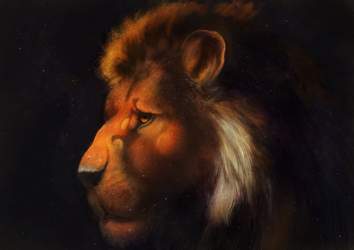 The lion 5 by Miracat