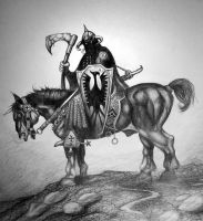 The Death Dealer by Techdrakonic