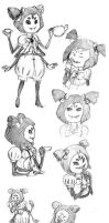 Little Miss Muffet by NymphalisIo
