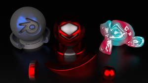 Test Blender Cycles by Lukazoid
