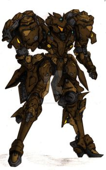 Voltaire Brown G-Host colors by sledgeviper