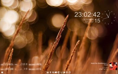 my desktop by experiments4