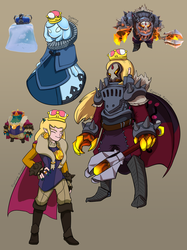 Super Crown - Spiral Knights by FightingPolygon