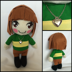 Undertale Chara plushie by aitefurude