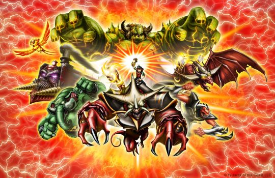 Kaijudo Poster art by MarceloMatere