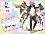 Candy-Jarr Visitor: Axel Lioner by MestariTheMoth
