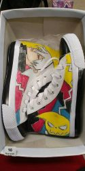 Souleater Converses #1 by AnArtistic0Soul