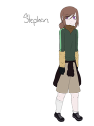 CPOC Slenderman Proxy Stephen by DaCrepeArts