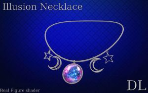MMD illusion Necklace DL by NiShiGara
