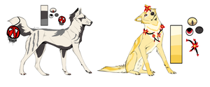Chinese New Year | Wolf Designs [CLOSED] by Sparkanine
