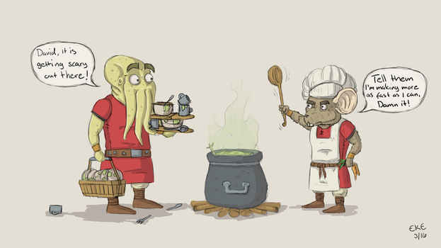 Don't mess with the cook by S-K-E