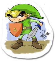 LINK by TheCartoonLoon