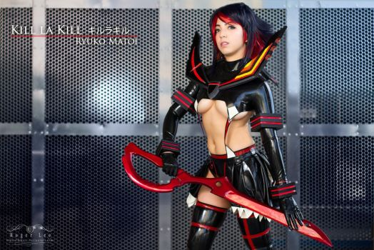 Ryuko Matoi Battle Mode by DigitalHikari