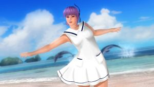 DOA5 LR - (APink - No No No) Ayane  Idol Outfit by Clanverwalter