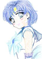 sailor mercury by Blossom93