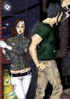 Colo Rogue and Logan by dreamhavre