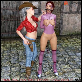 Mature Mistress and her Pony Girl by mastercchris