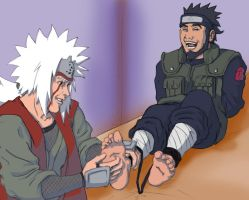 Jiraiya - the tickle perve by pineomatic