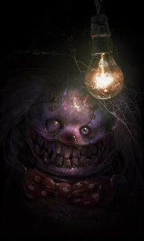Coulrophobia ! by ptitvinc