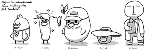 HCWS SCP Dr Doodles 001 by toadking07