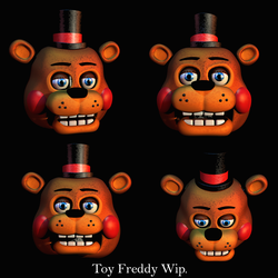 Inaccurate Toy Freddy Wip by Popi01234