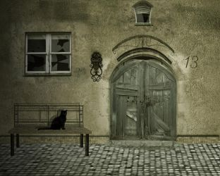 Old House by erathion