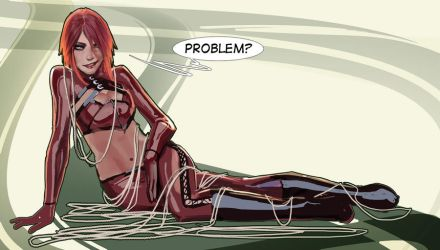 just a random redhaired chick... proooblem? by nebezial