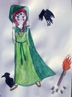 Pagan Witch by saramarconato