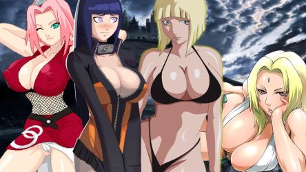 Women of Naruto by Negator7
