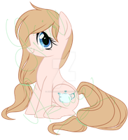 ADOPTABLE - Teapot pony CLOSED by Azure-Art-Wave
