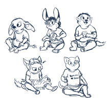 babbies by skurvies