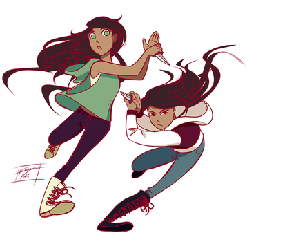 Energetic twins by Kare-Valgon