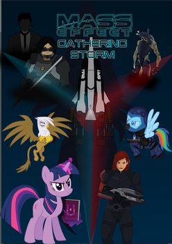 Mass Effect: Gathering Storm cover by markoatonc