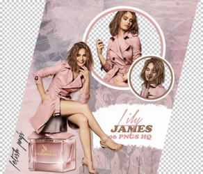 PACK PNG 118 // LILY JAMES by fetishpngs