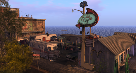 The Lakeside Trailer Park comes into view by MadokaKawabata