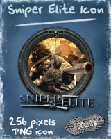 Sniper Elite Dock Icon by nuteduard