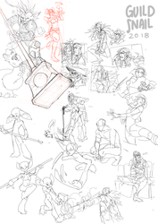 sketchdump0015 by guild-snail