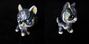 Link: The Blue-Eyed Beast LPS Custom OOAK by littlest-customs