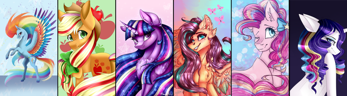 Rainbow Power [COLLAB] SPEEDPAINT by CreativeCocoaCookie