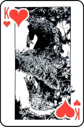 King-of-Hearts (Man-Thing/Swamp-Thing) by quicktiming