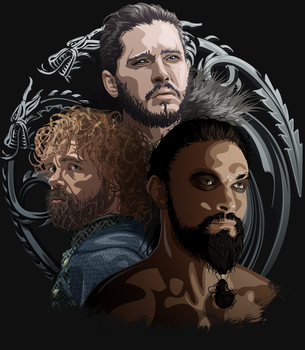 Game of Thrones Shirt design by skodadav