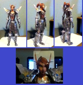 Wow papercraft_Lady Liadrin by ominoushunter