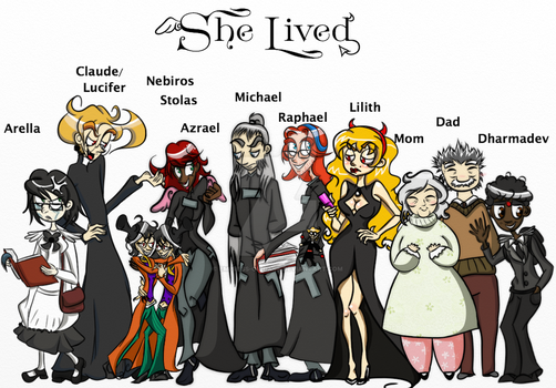 She Lived- Full Cast by Empress-of-Dark