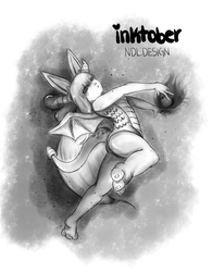 Inktober4 by Lucora