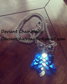 Owl ChainMaille Pendant by DeviantChainMaille