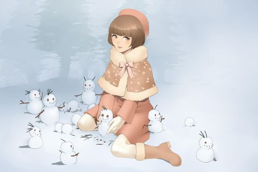 Fauna and the Snowman by Lilbang