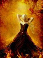 The girl is on fire by annemaria48